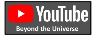 View Nicola Di Pietro's Beyond The Universe YouTube Channel
